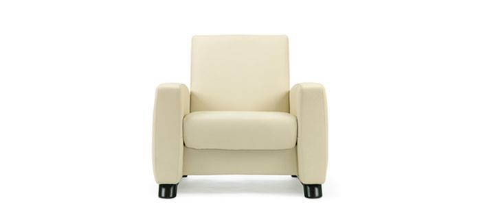 Stressless Arion 1 seater low back