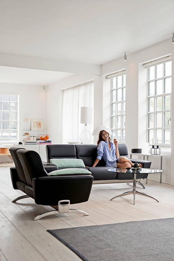 design sofaer stressless you julia 3 seter. Black Bedroom Furniture Sets. Home Design Ideas
