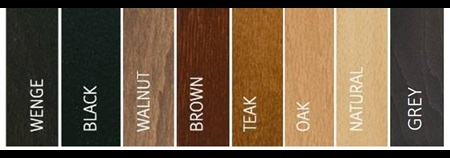 Wood colour stains